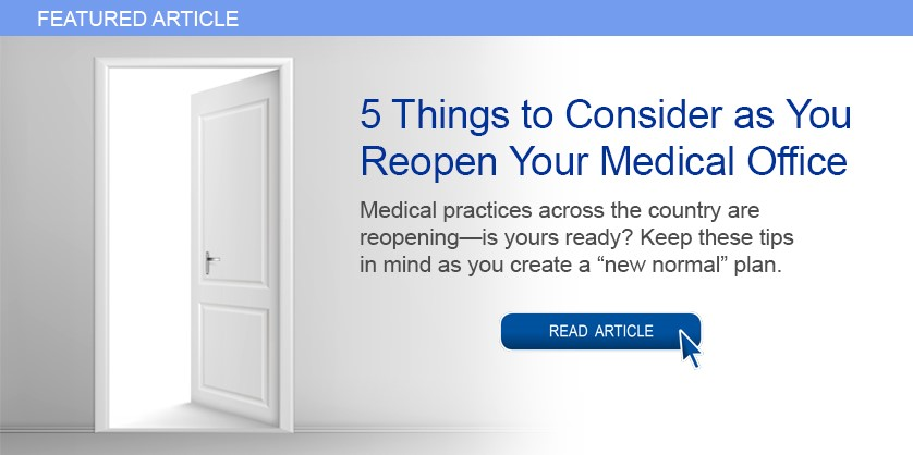 Reopen Your Medical Office